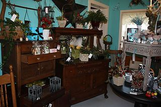 holiday decor, lucketts, virginia, on a whim, antiques