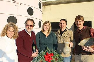 holiday decor, lucketts, virginia, on a whim, antiques, Fabbioli Cellars, Wood Fired Pottery