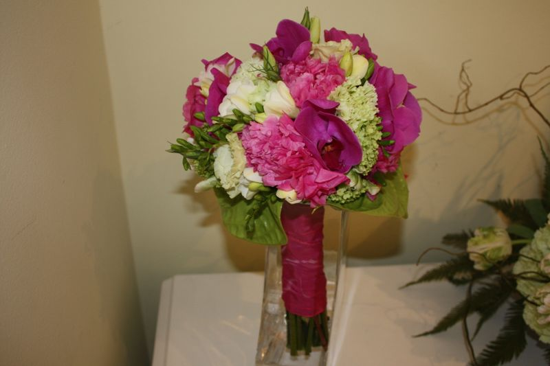 Hitched, Peonies, Freesia