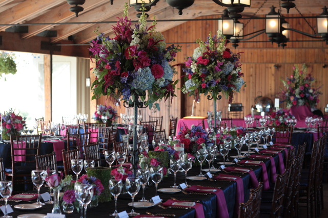 Hot pink and blue wedding flowers the marriott ranch holly 10282011 hot pink blue wedding flowers the marriott ranch mightylinksfo