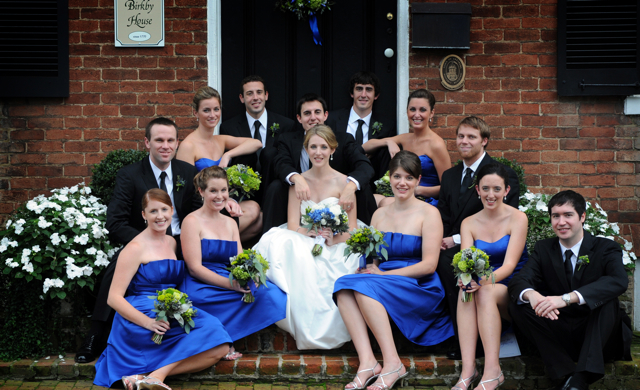 Megan John 39s Royal Blue Loudoun Wedding