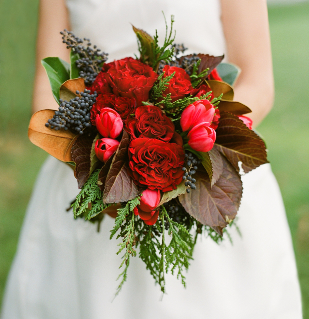 Winter Wedding Bouquets - Holly Chapple Holly Chapple Winter Wedding ...