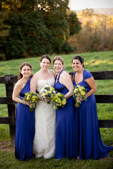 Blue And Green Wedding Flowers Loudoun Weddings