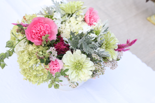 organic wedding flowers, locally grown wedding flowers