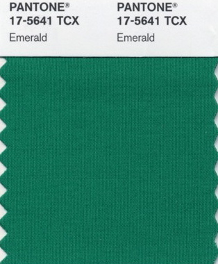 Emerald Pantone Color Of The Year 2013 Holly Chapple