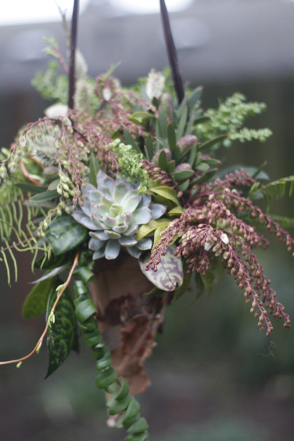 al design Workshop, Portland Orgegon Florist, woodland floral designs,