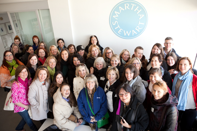 Chapel Designers at the offices of Martha Stewart