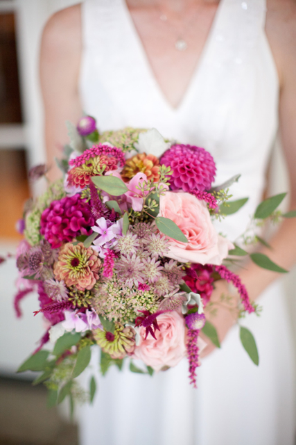 Loudoun Weddings, Pink wedding flowers, local flowers