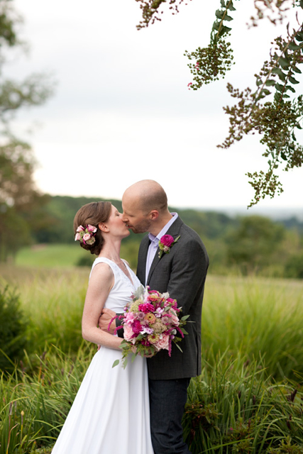 Loudoun Wedding, Pink Wedding, Local Wedding Flowers