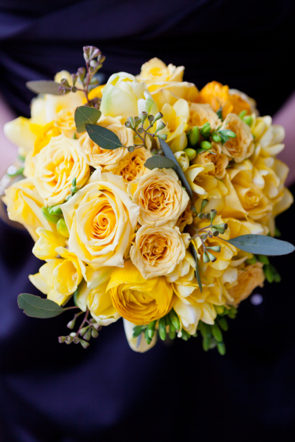 Loudoun Weddings, Leesburg Florist, Holly Chapple Flowers, yellow flowers, Merriweather Manor