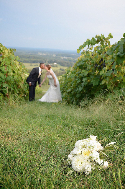 event designer holly chapple flowers, florist for bluemont vineyard