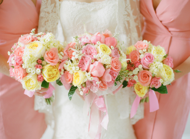 Sally and andrew loudoun weddings coral and yellow holly leesburg weddings loudoun weddings coral charm peonies mightylinksfo