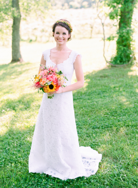 bluemont vineyard wedding, flowers by holly chapple