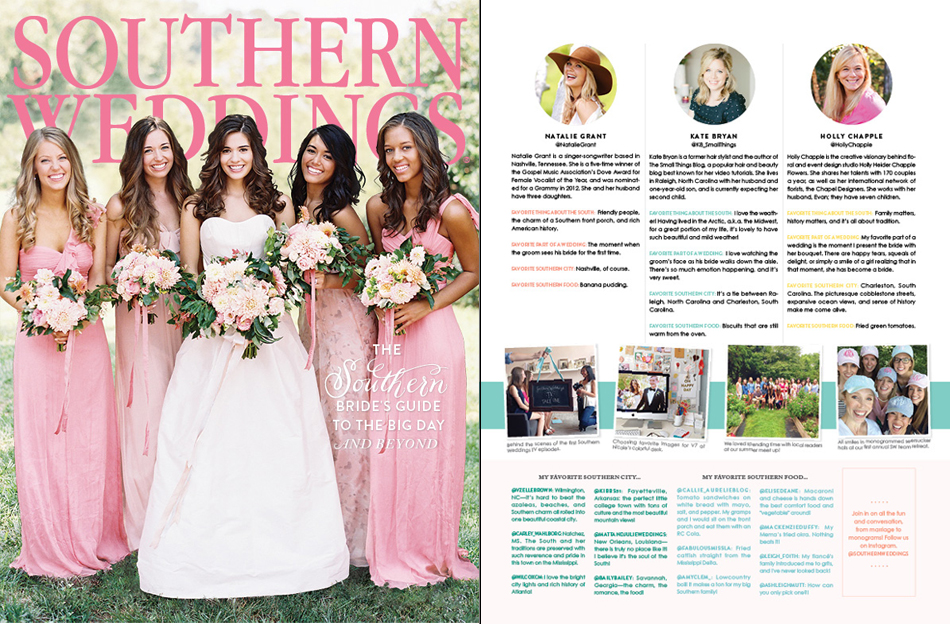Southern Weddings, weddings, Holly Chapple, Holly Chapple Flowers, florals, bouquets