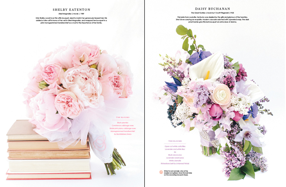 Steel Magnolias, The Great Gatsby, lily, peony, Southern Weddings, Holly Chapple Flowers, bouquet, blush, tulle