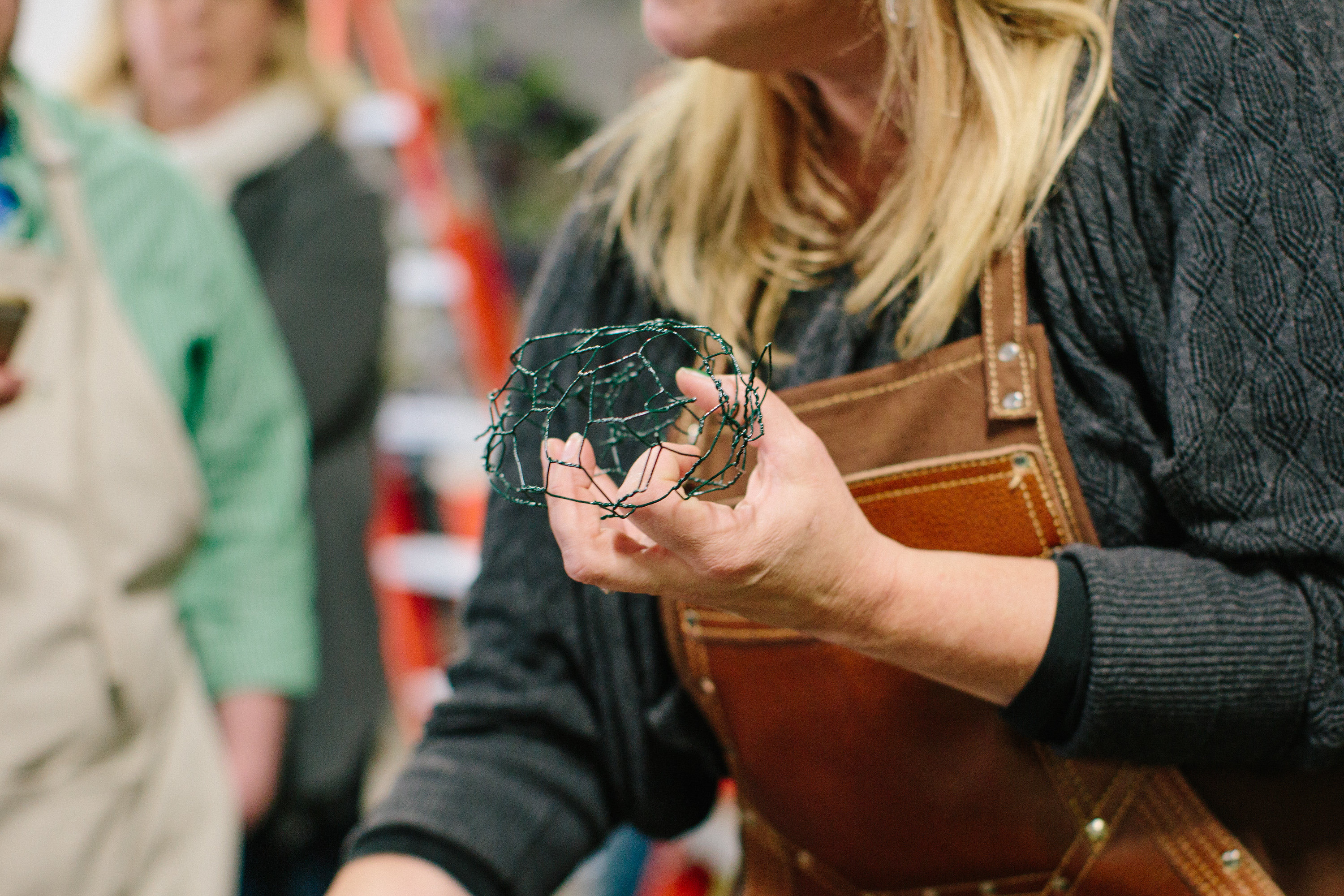 The Truth About The Holly Chicken Wire Egg Holly Chapple
